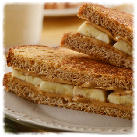 Amish Peanut Butter & Banana Sandwich