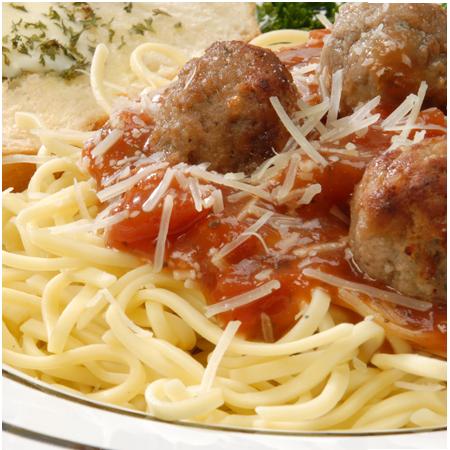 Pasta with Italian Meatballs