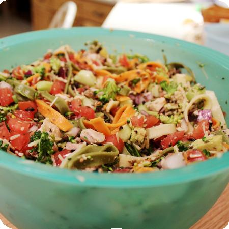 Chicken & Bacon Pasta Salad