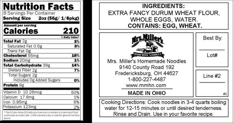 Mrs Millers Old Fashioned Egg Noodles back of bag.png