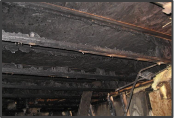 Burned out I-joists