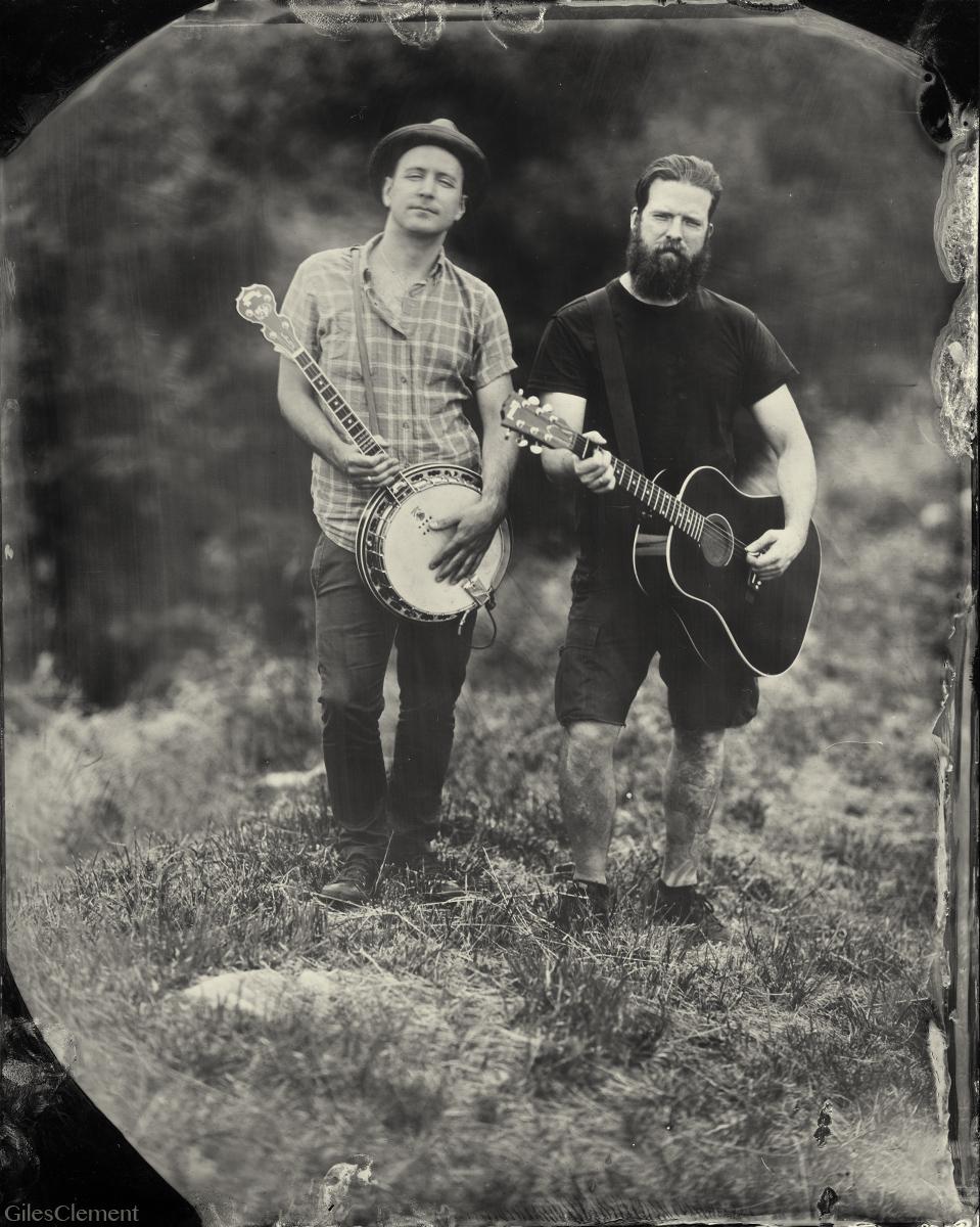 Jeff and Dave of Dropkick Murphys