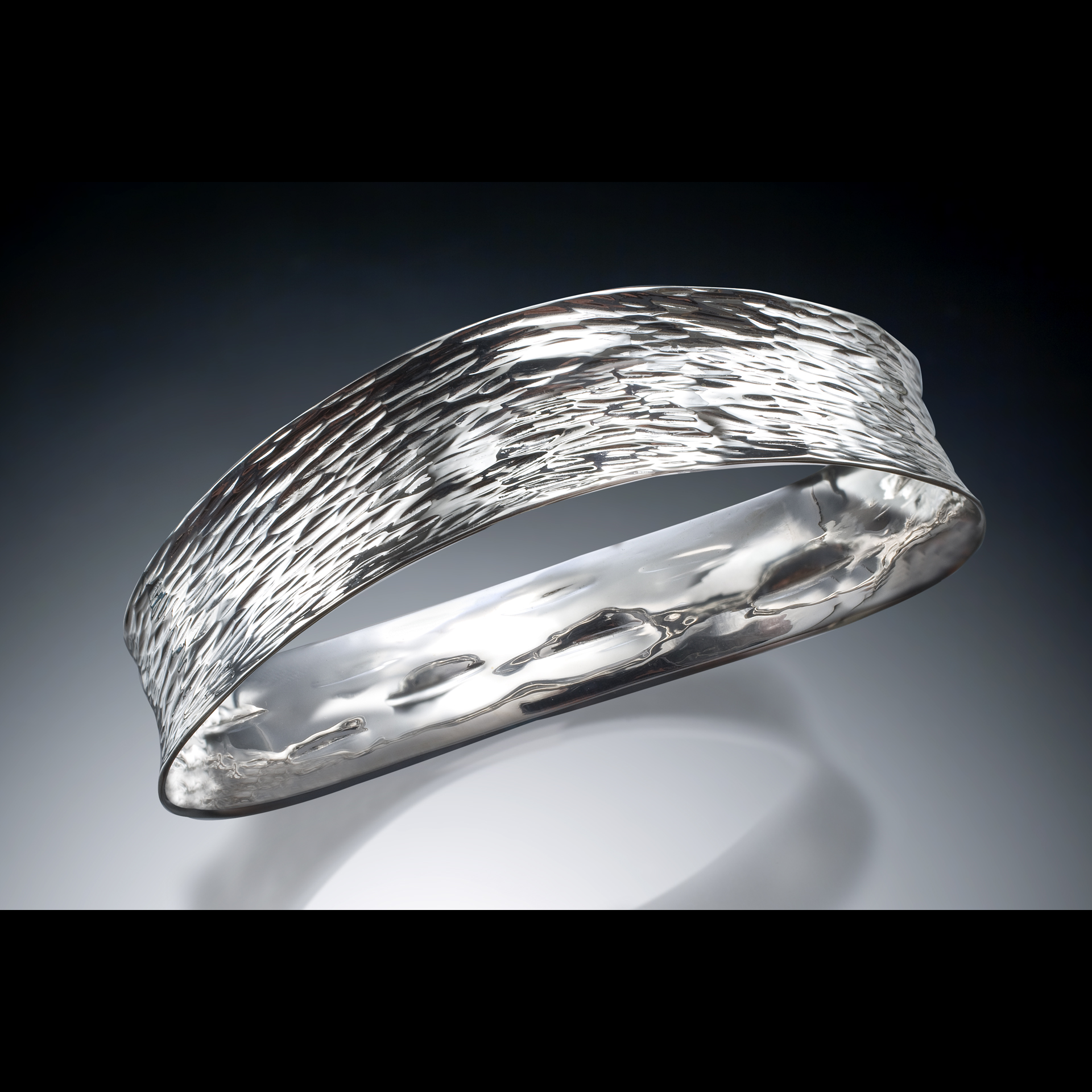 B-2108 Textured Bangle (all available as a cuff)