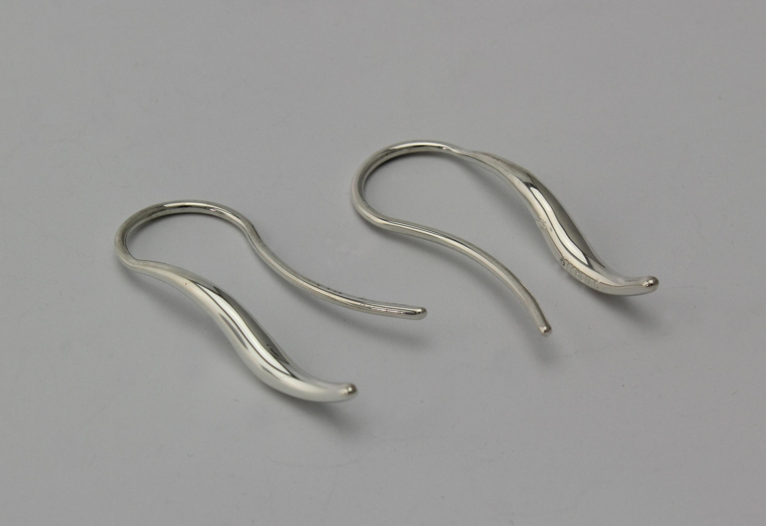 Small Double taper Drop Earrings