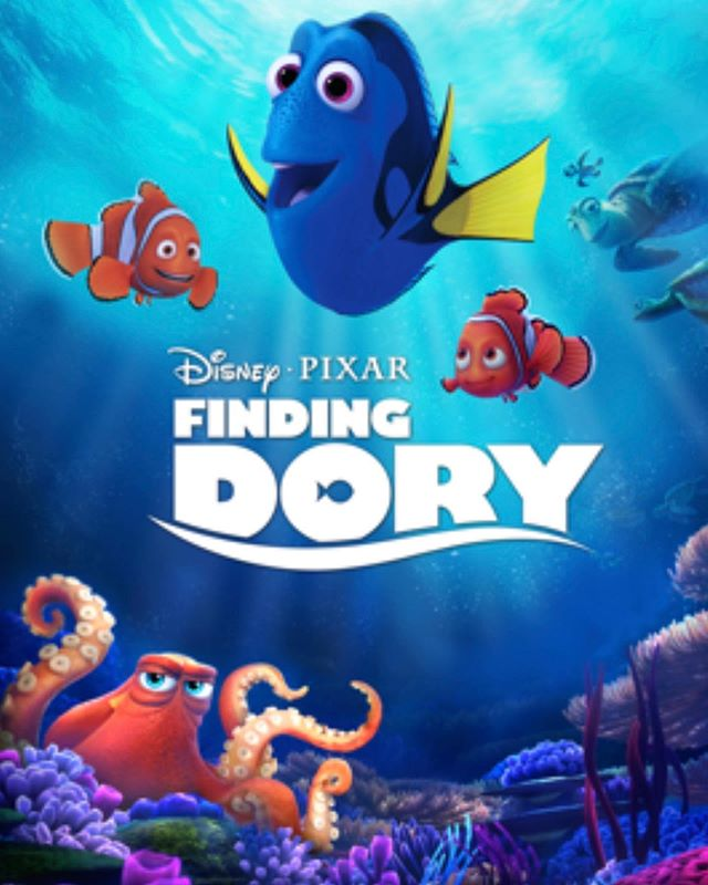 Movie night tonight at 8:15!!! Finding Dory🐠🐟