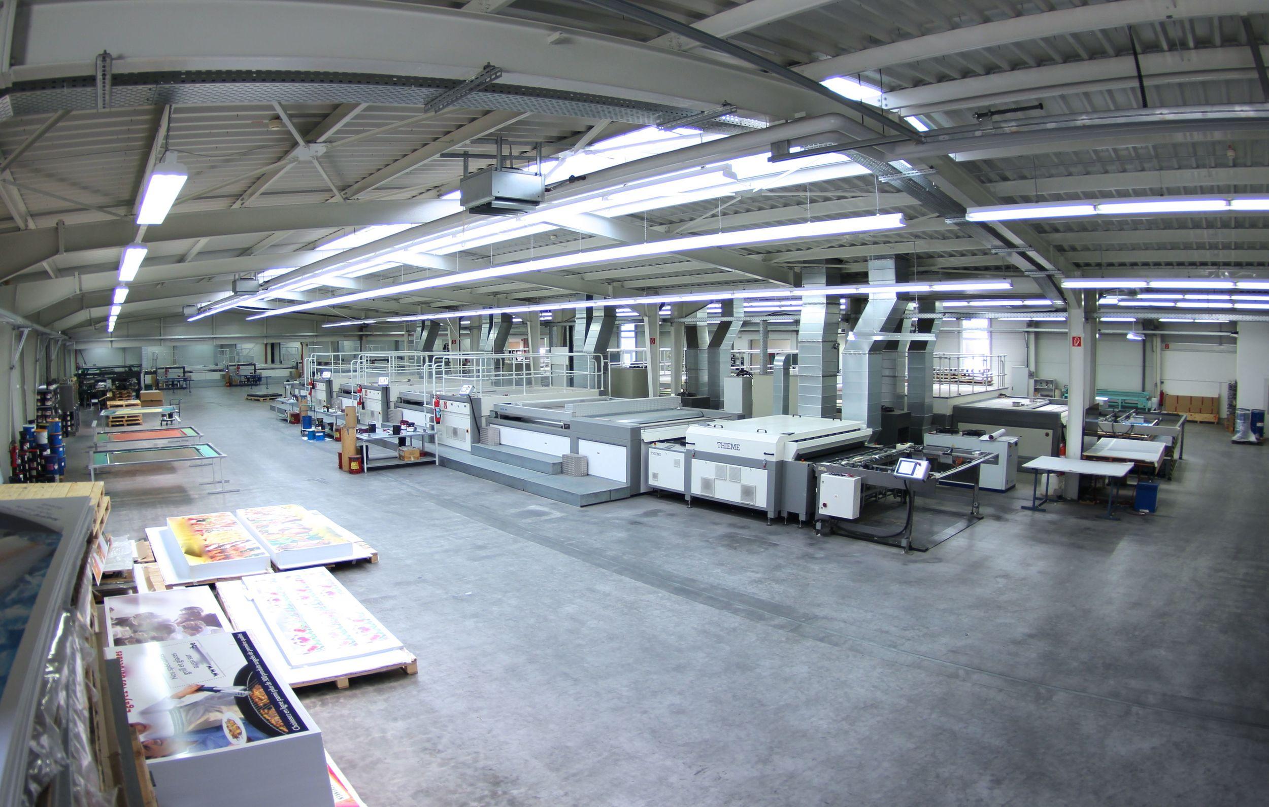 12.000m² Produktions- und Lagerfläche