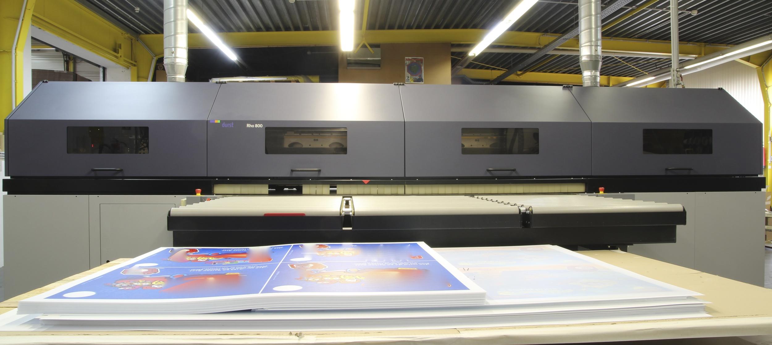 Format 2,5m breit und beliebig lang bei einer Dicke von bis zu 50mm