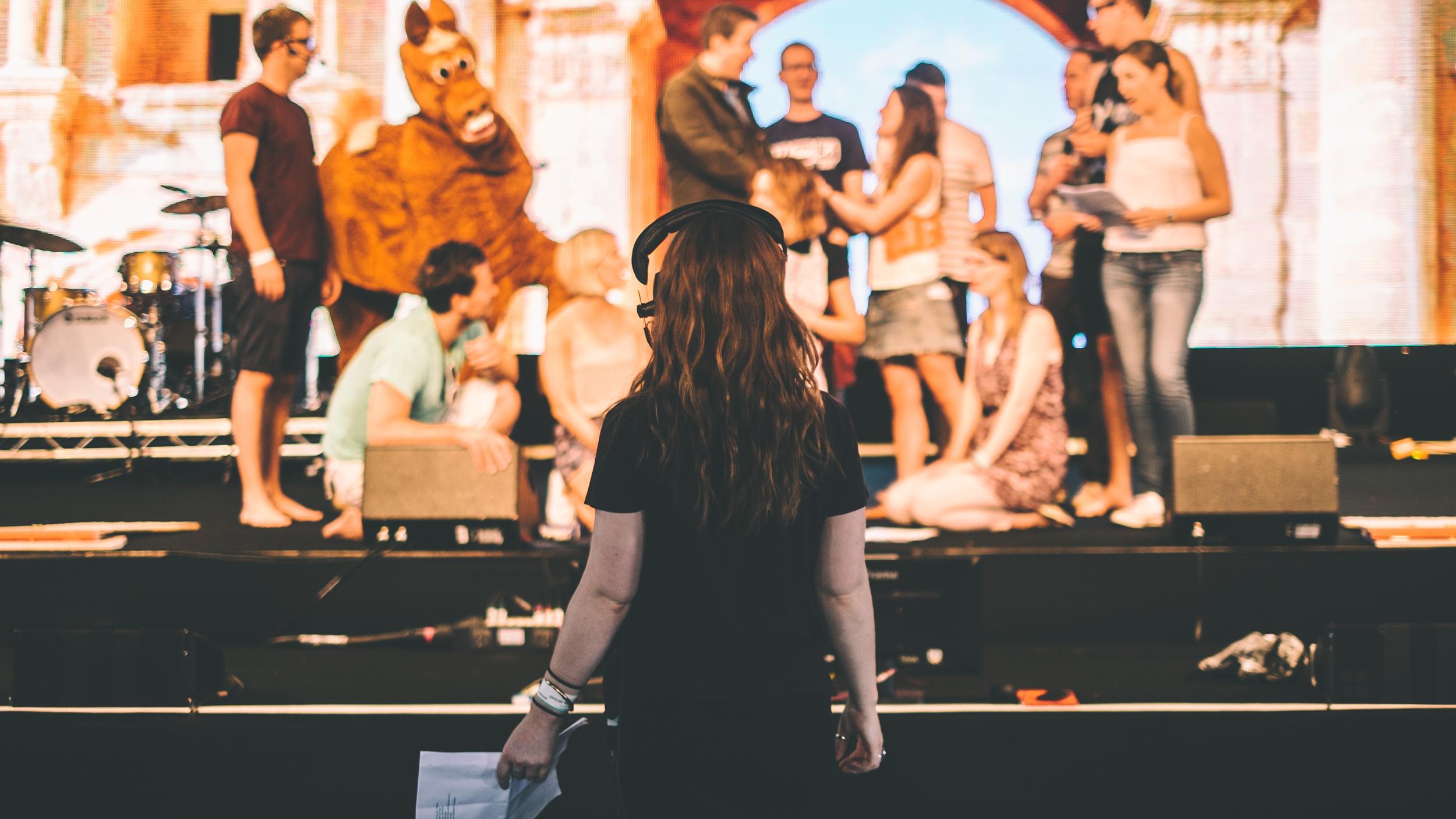 Hannah directing.jpg