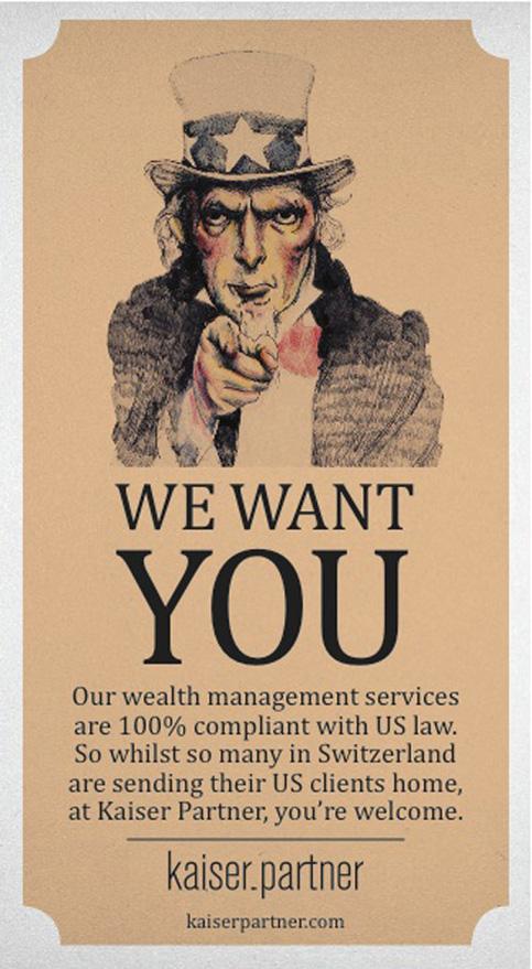 Advert for Kaiser Partner Ltd