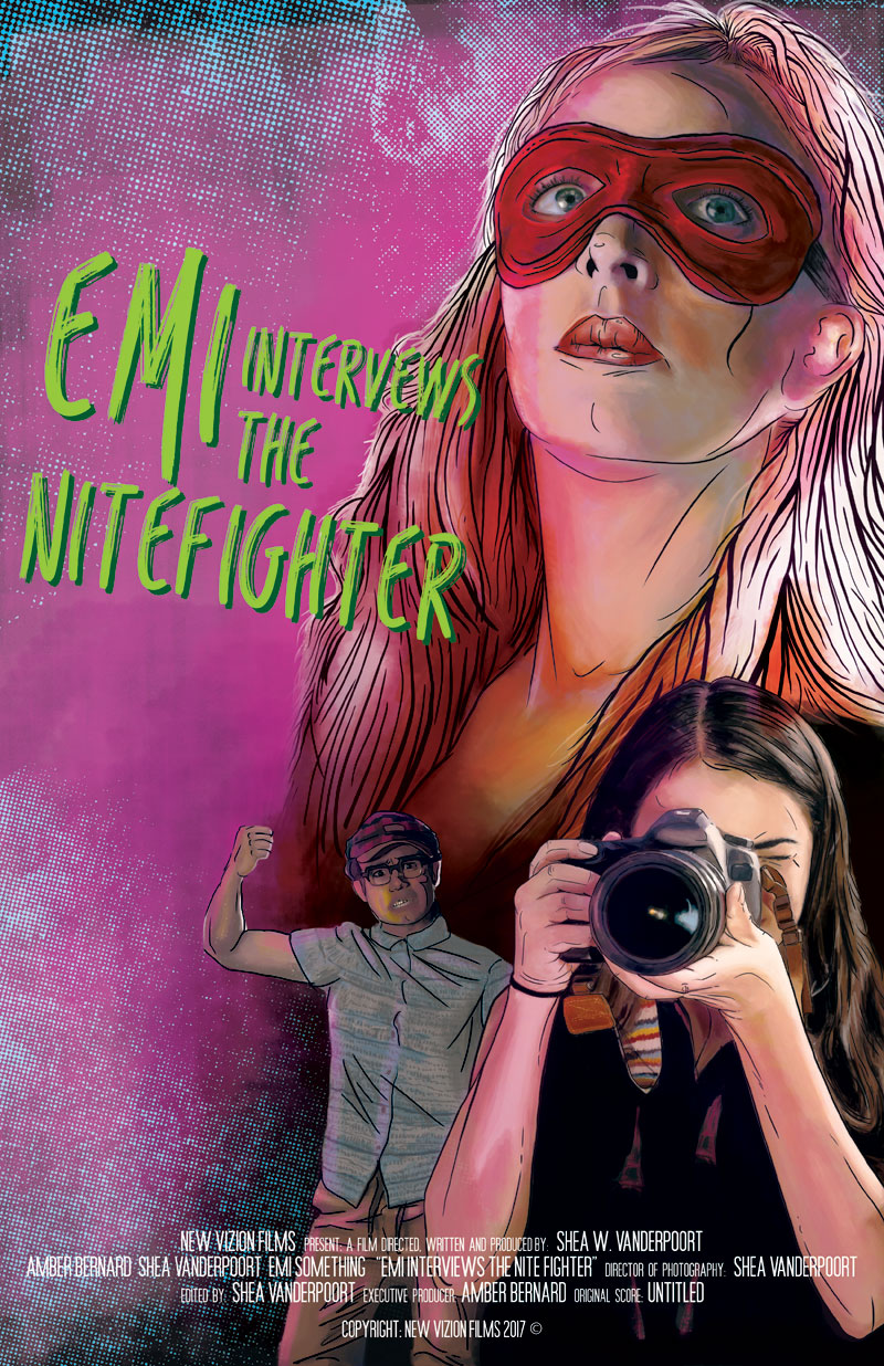EMI Interviews The NiteFighter - A indie action-comedy of a self proclaimed masked super heroine.