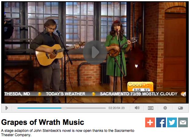 """Misner & Smith performing """"Wayfaring Stranger"""""""