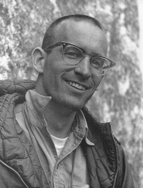 Photo Credit:  Royal Robbins 2  Tom Frost  (~1938 - )   Scanned from book Royal Robbins: Spirit of the Age by Pat Ament, page 56