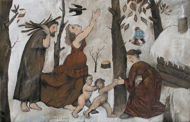 The Donner party, by Vincent Decourt