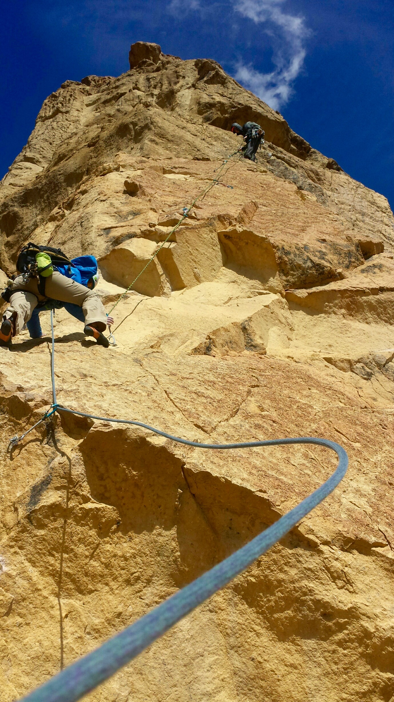 San Francisco Multi-Pitch Rock Climbing
