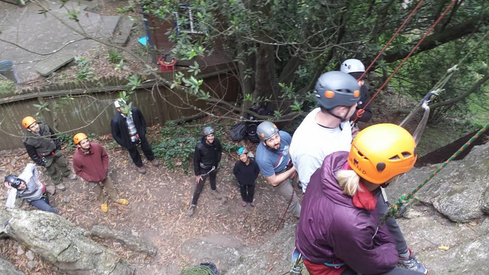 Rock Climbing Anchor Building Rock Climbing Rescue Training