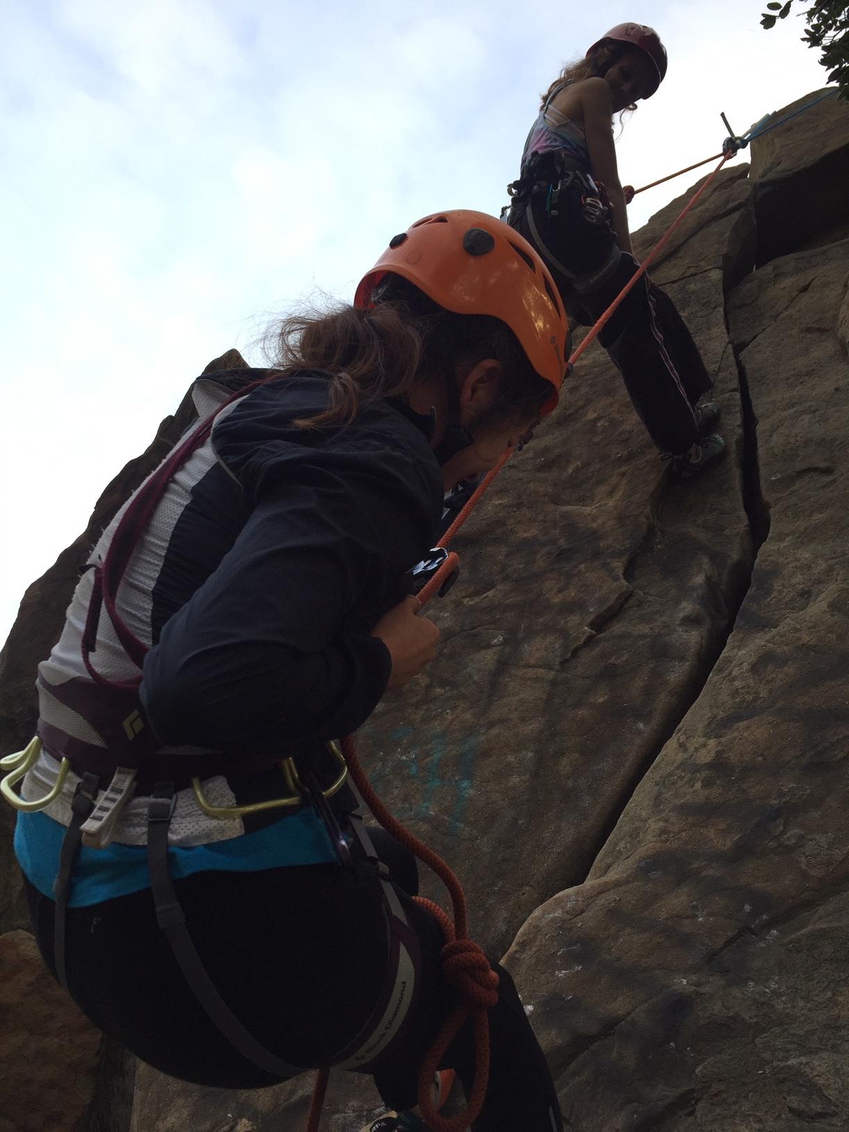 Partner Rescue Alpine Climber Rock Climbing SAANO Adventures Trad Climbing Multi Pitch.JPG