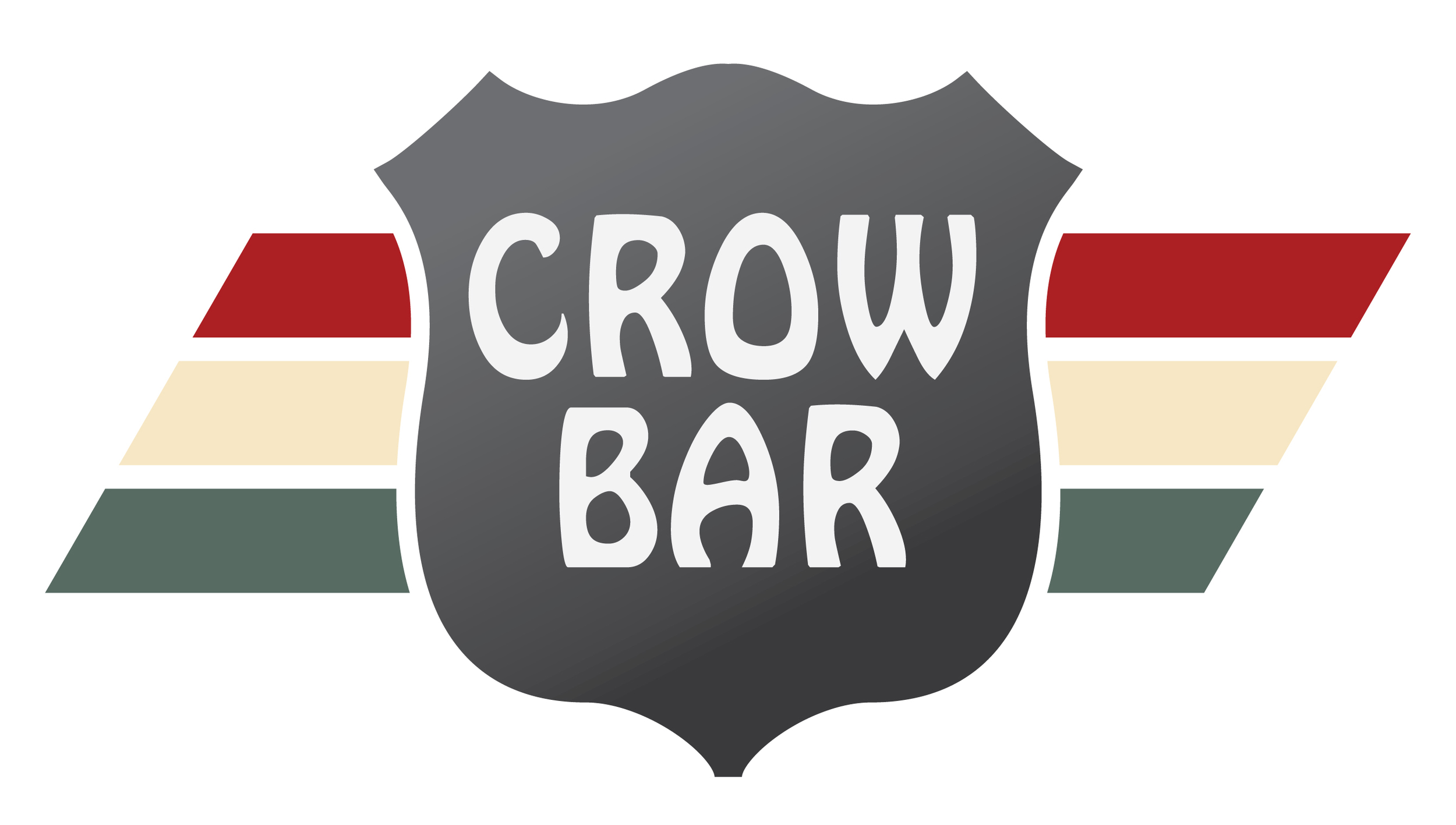 Crow Bar logo redesign by joe horvath of josephhorvath.com