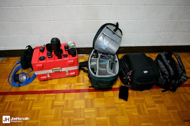 camera bags and camera gear