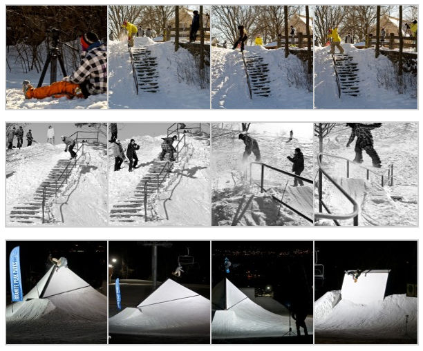 Theteamlab.com snowboard photo gallery