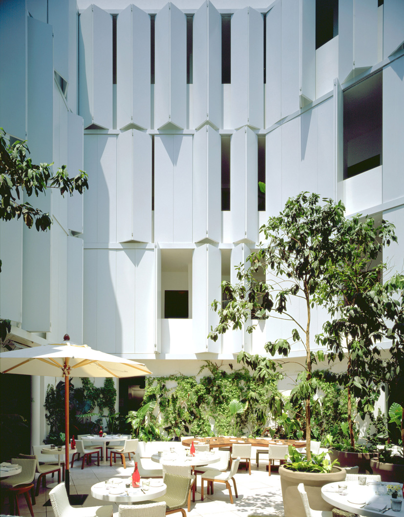 Hotel Condesa DF  Project by JSa, Constructed 2005  Mexico City DF