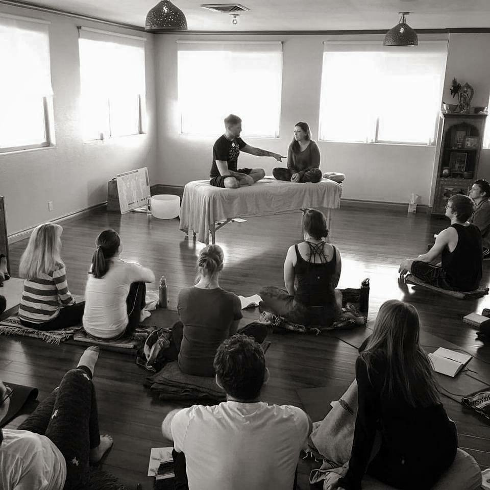 Teaching my Anatomy of Emotion Workshop at Temple Yoga in my hometown of Reno, NV.