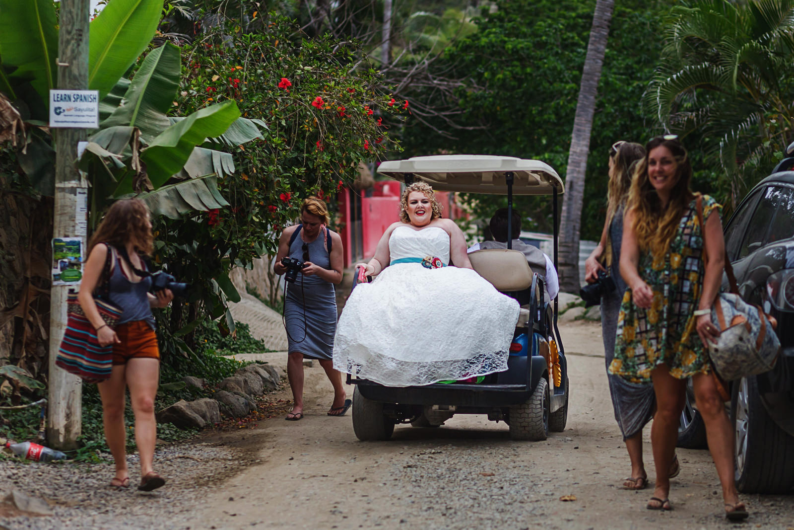Sayulita-wedding-photo-lesbian-gay-golf-cart