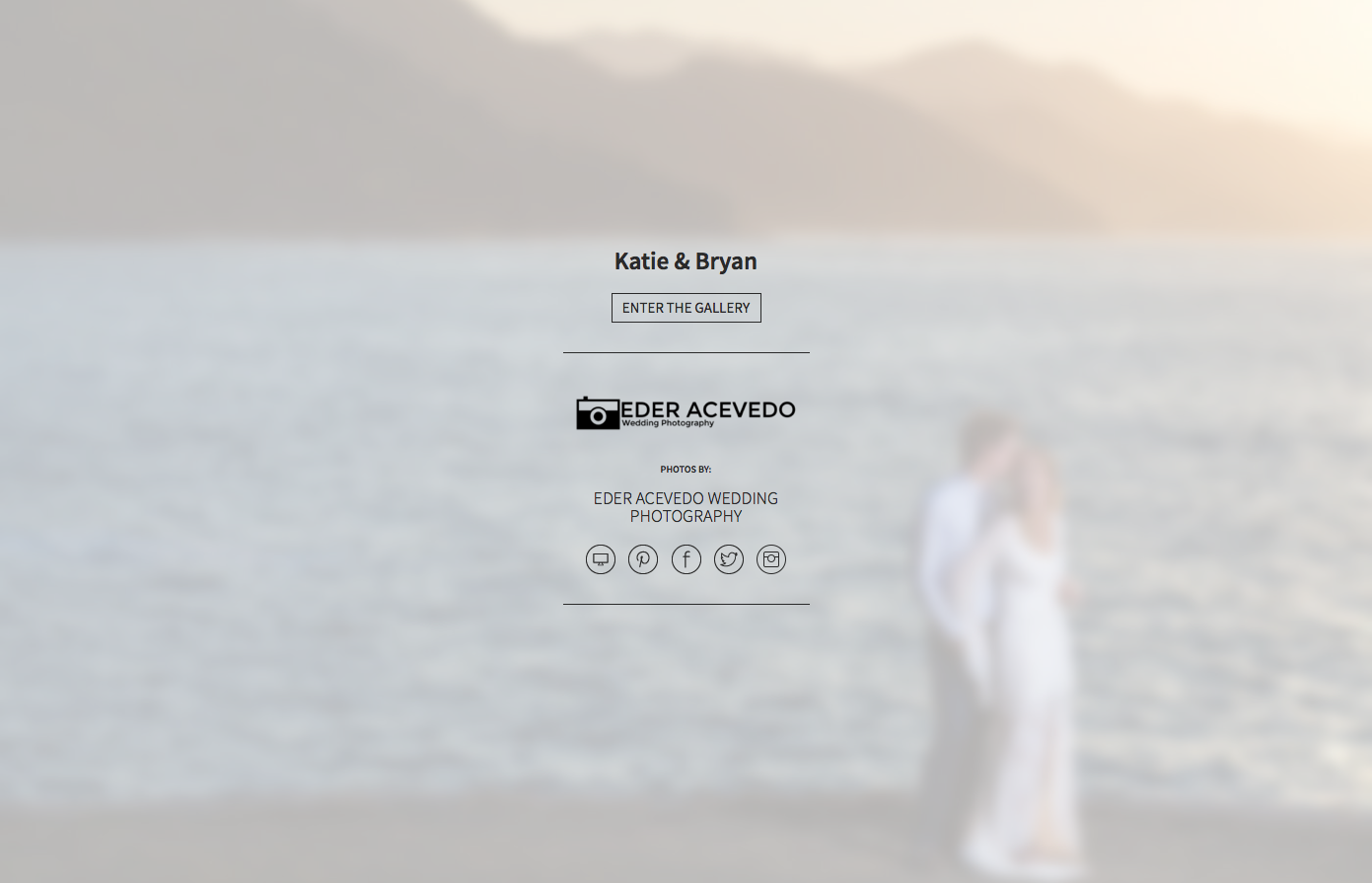 Couple standing near the pacific ocean after their destination wedding ceremony at Le Kliff restaurant in Puerto Vallarta, Mexico.