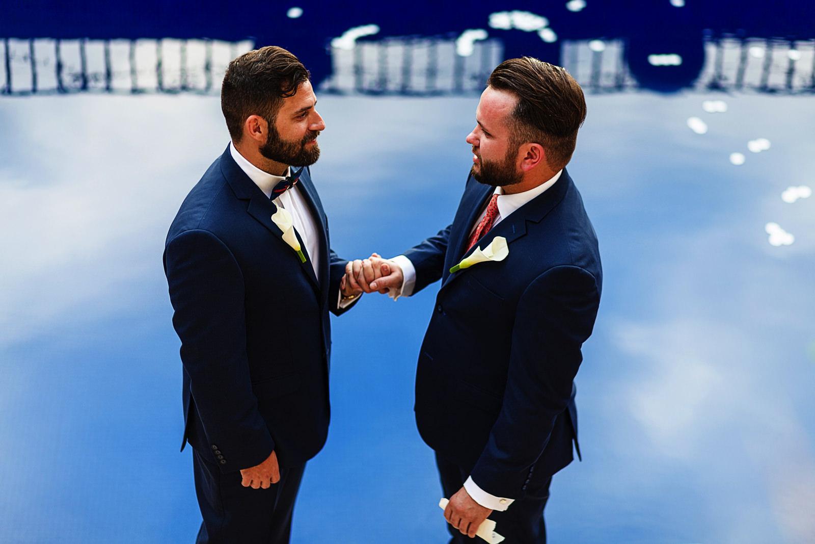 gay-grooms-pool