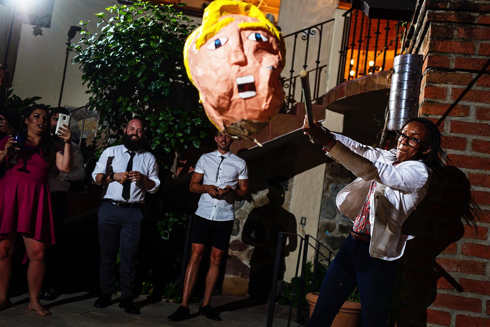 trumps-head-piñata