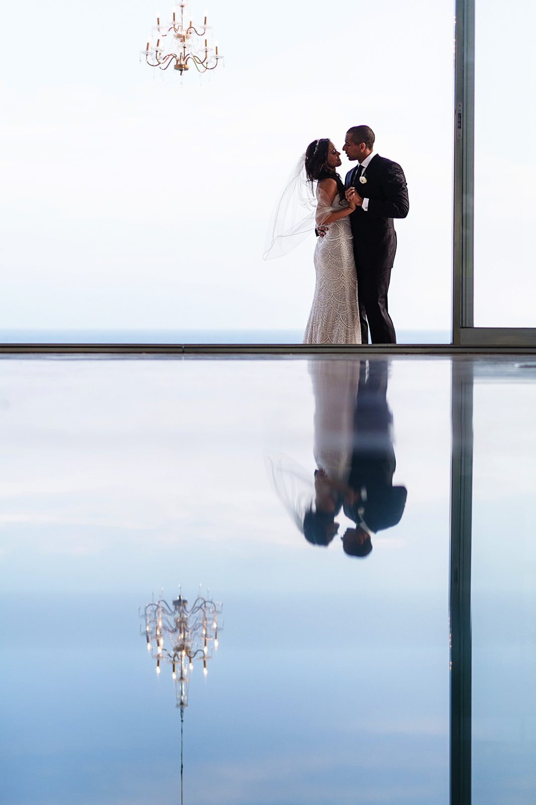 first-dance-couple-reflection