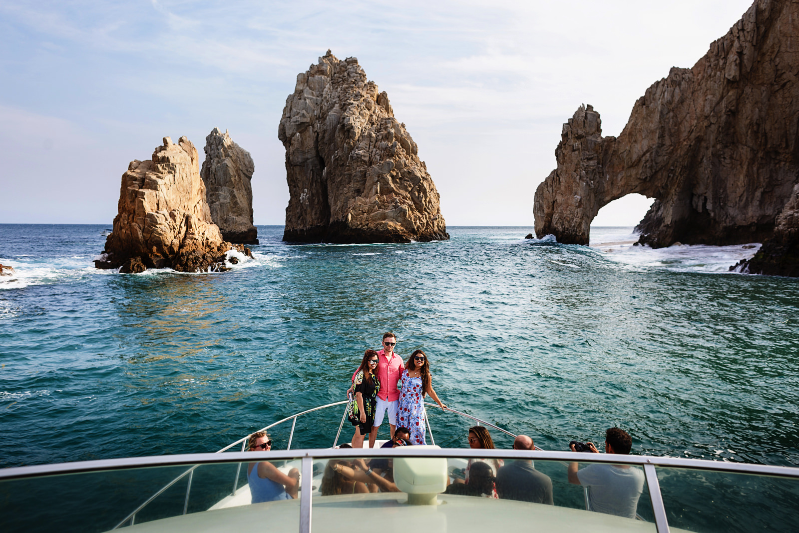 El Arco in Cabo San Lucas from a yacht