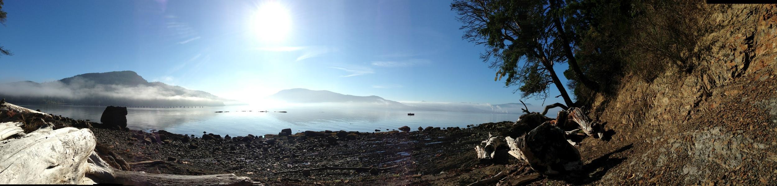 My beach - panorama