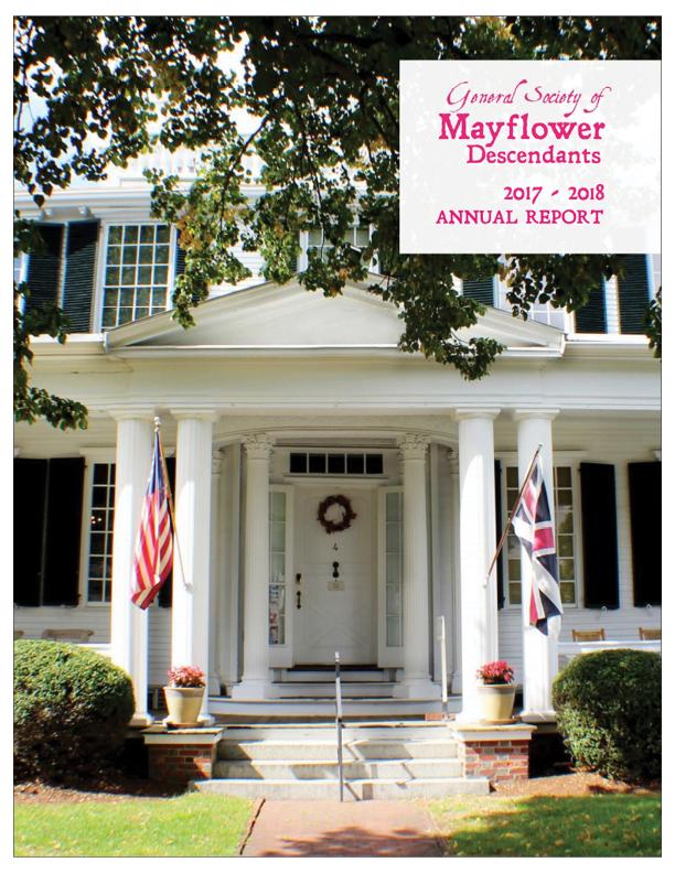 Cover, GSMD Annual Report