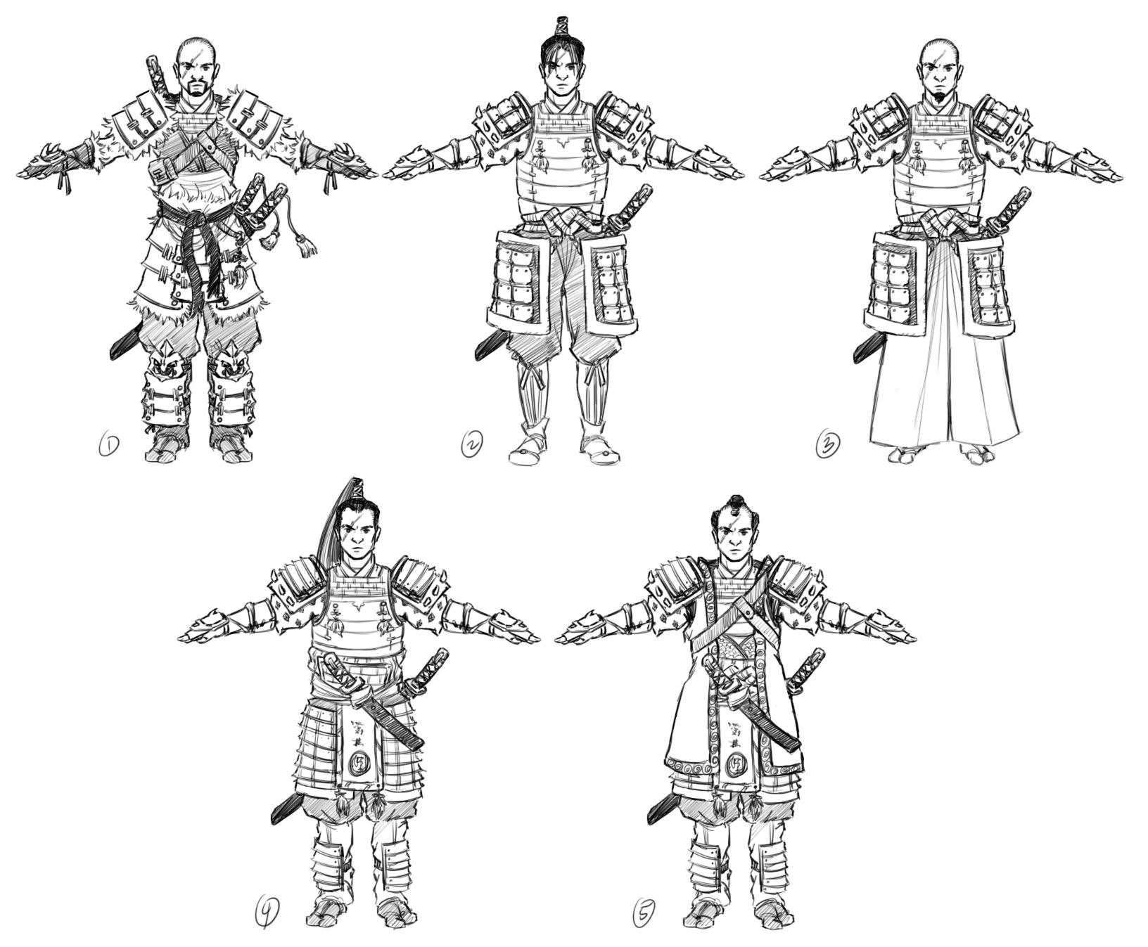 Savage Samurai Concept