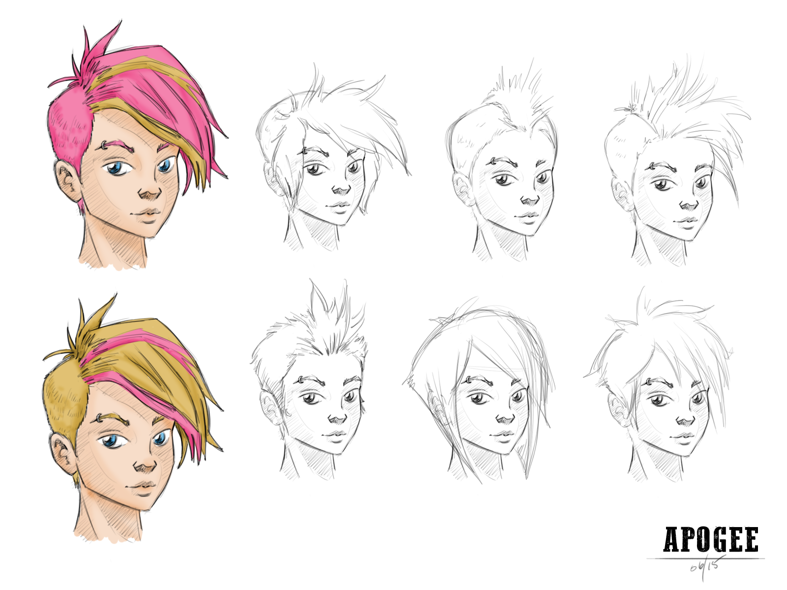 Apogee - Character Concepts