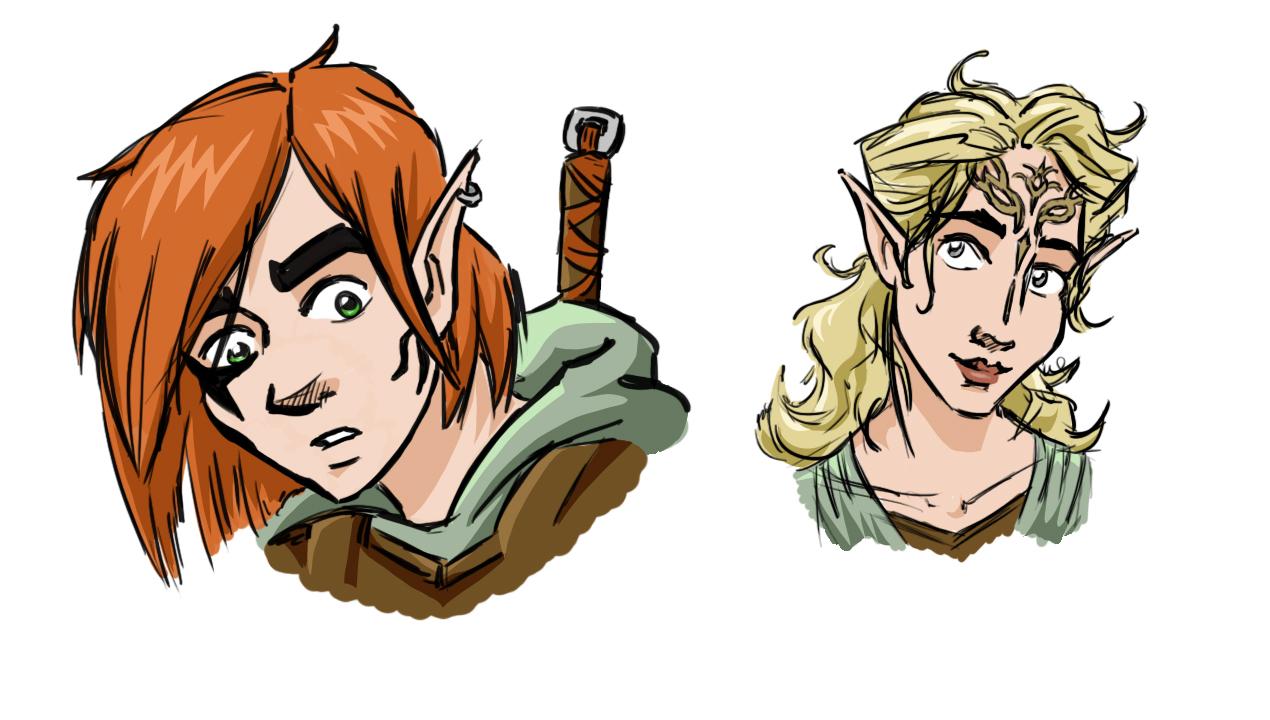 Keth & Naia - Character Concepts
