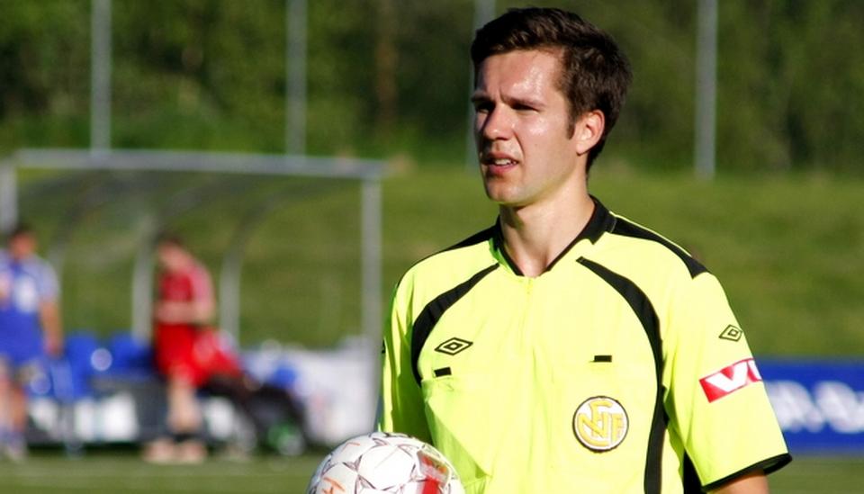 MOT TOPPEN:  Martin Lundby har hatt en flott sesong. Søndag debuterer han i Tippeligaen. Foto: OFK/Magnus M. Nygren
