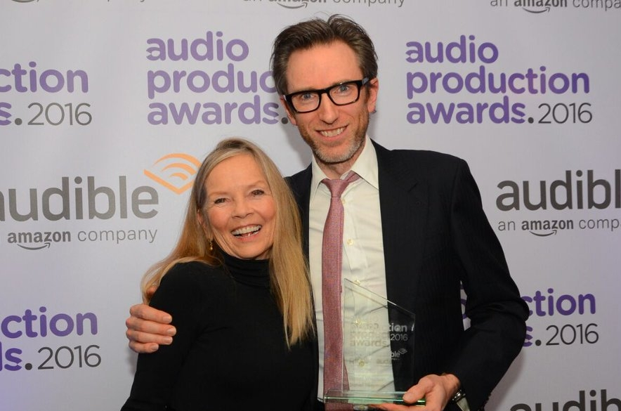 He was presented with his award by Jo Good.