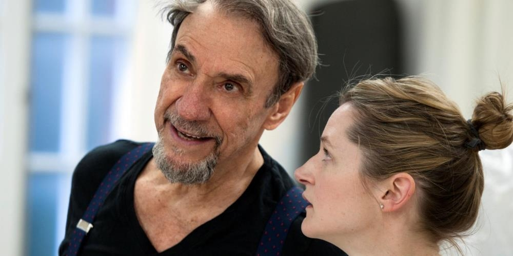 F. Murray Abraham and Naomi Frederick