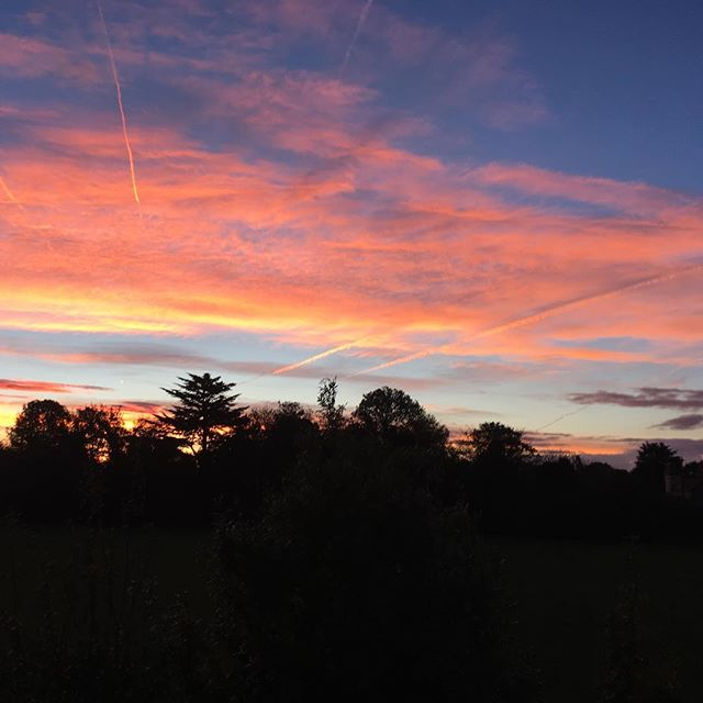 Watching this day emerging in the sky over Beckenham