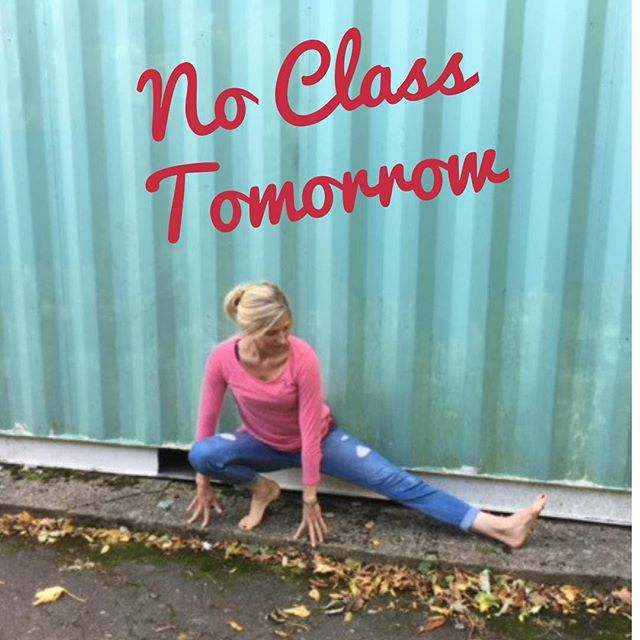 No class this week as planned, but back next Saturday and every thereafter until the festive break. Join me. Link in bio