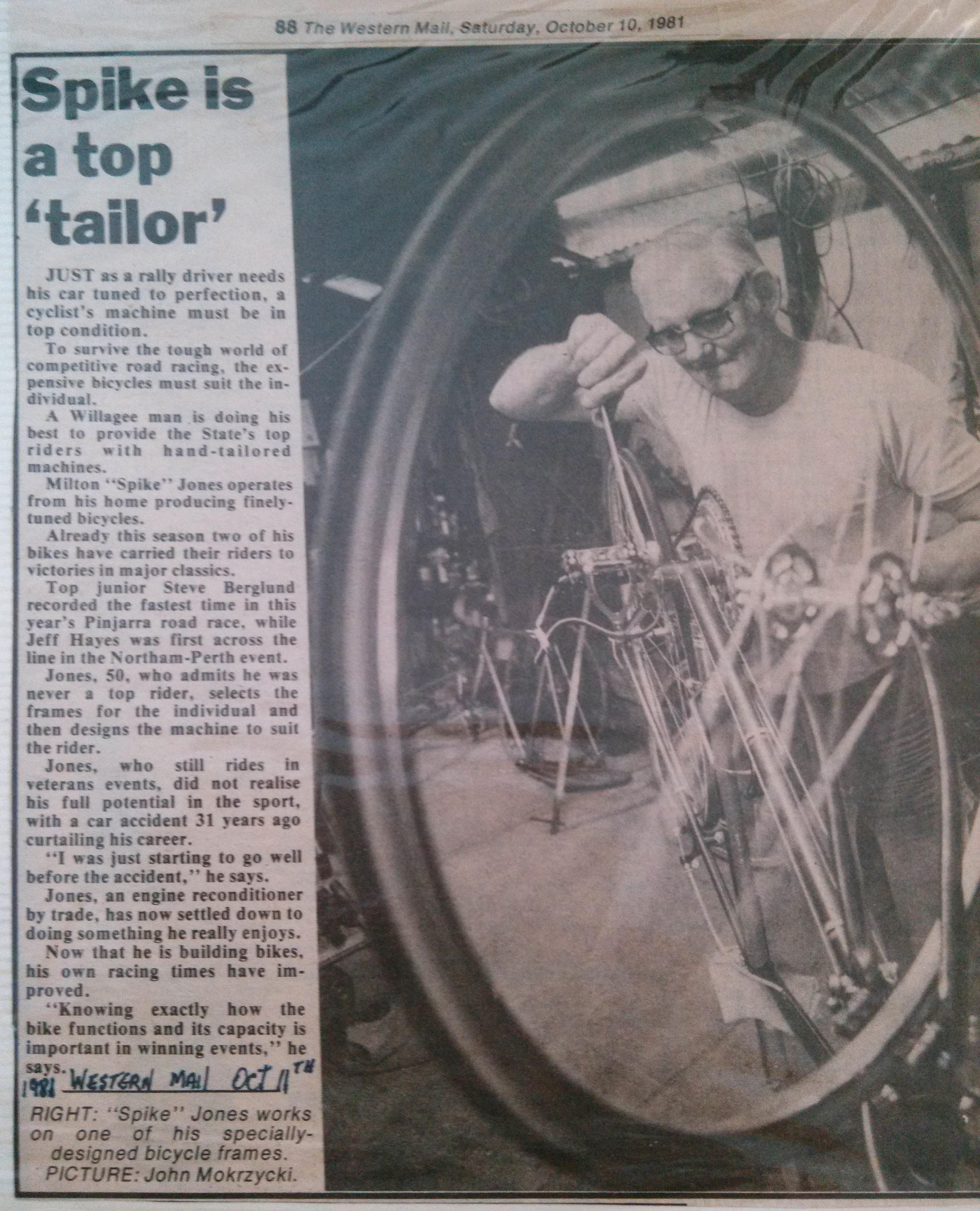Western Mail 1981 - click to enlarge