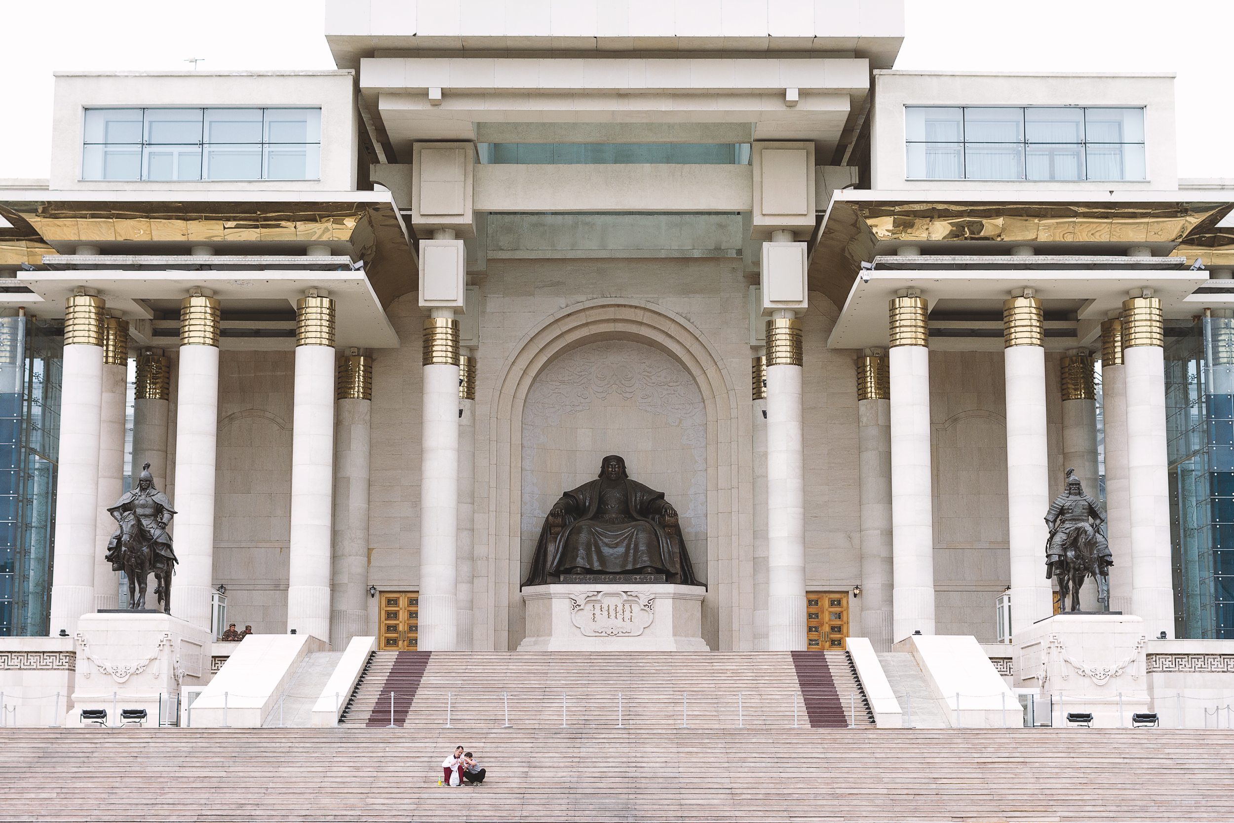Chinggis Khan Square and Government Palace