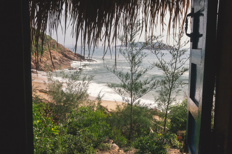 The Beach - utsikten fra bungalowen