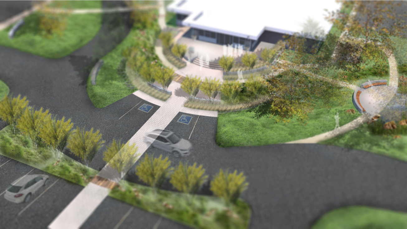 Rendering of City Hall Campus
