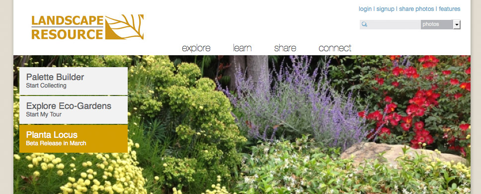 landscape resource website
