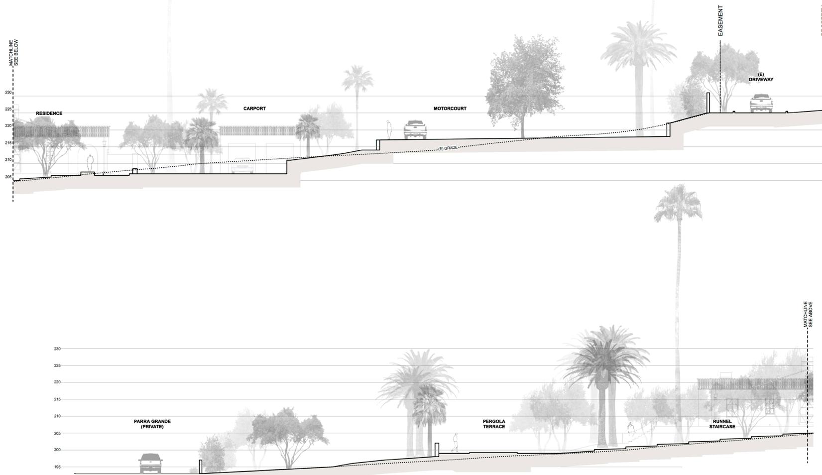 montecito estate grading development