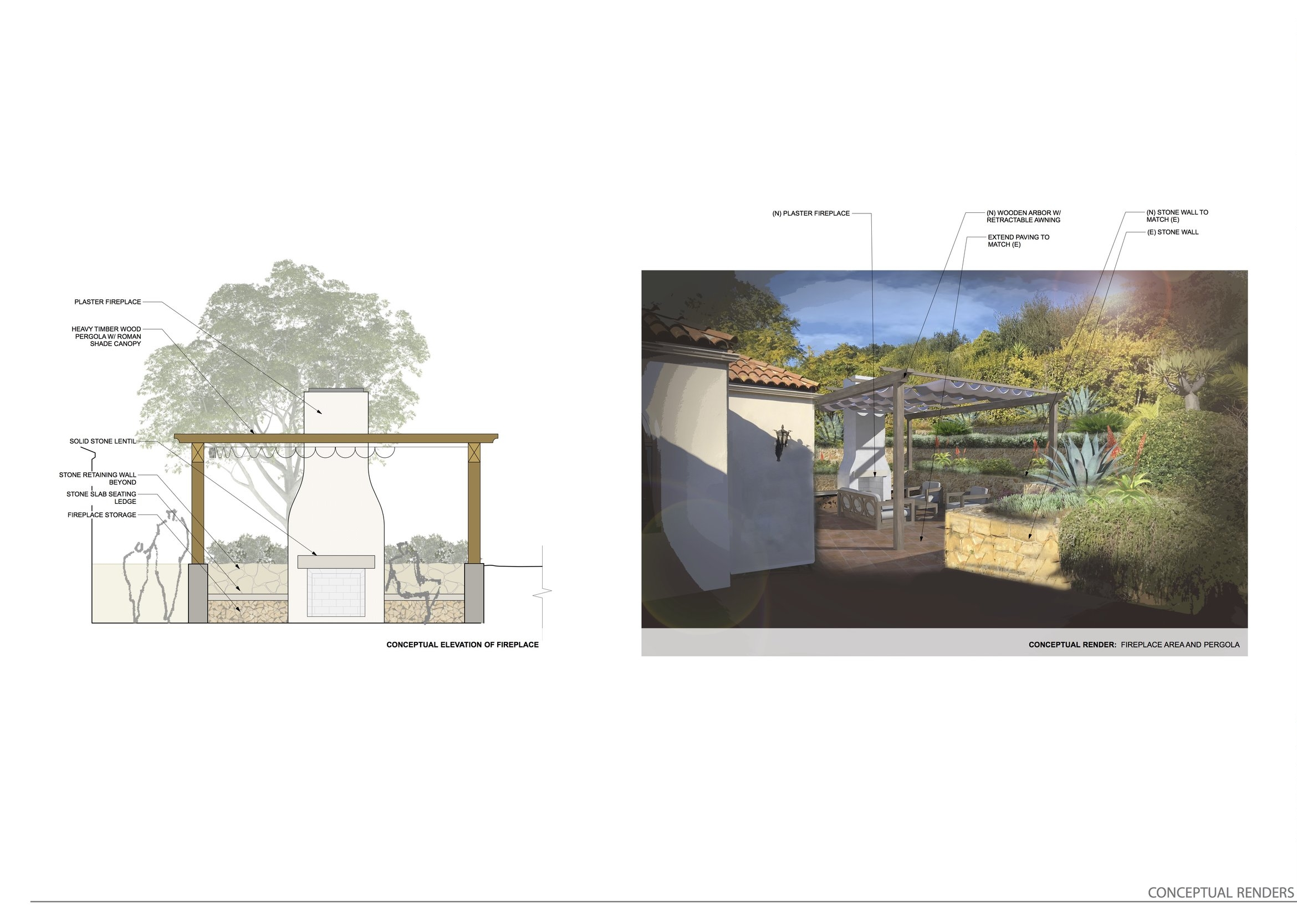 Conceptual Rendering and Elevation Study