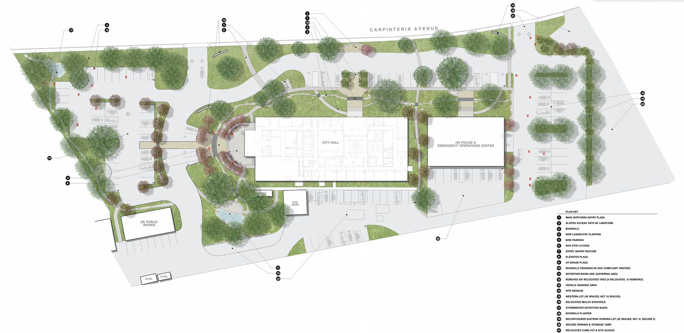 Carpinteria City Hall, Master Plan Campus Improvements