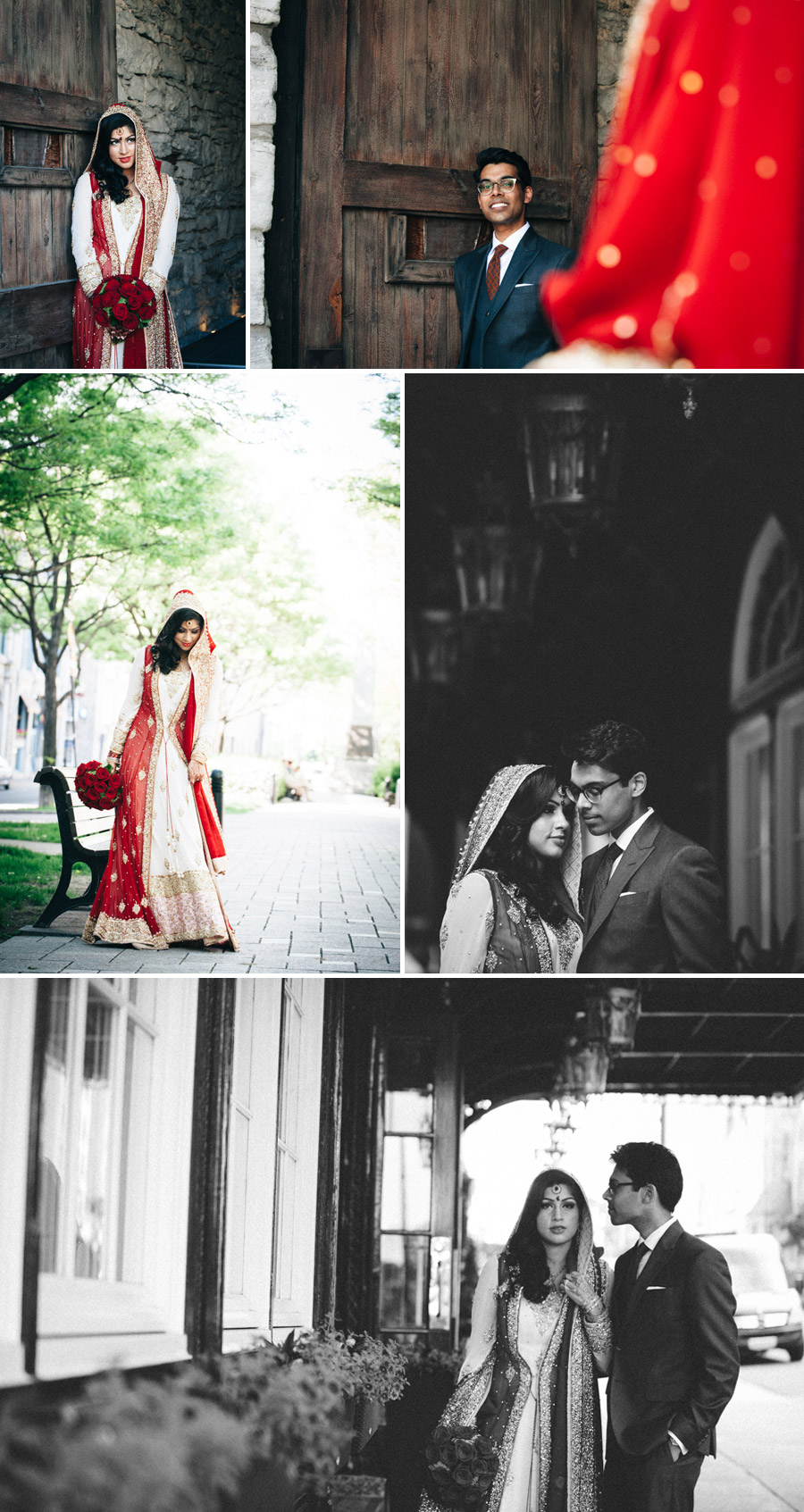 Pakistani wedding in Old Montreal